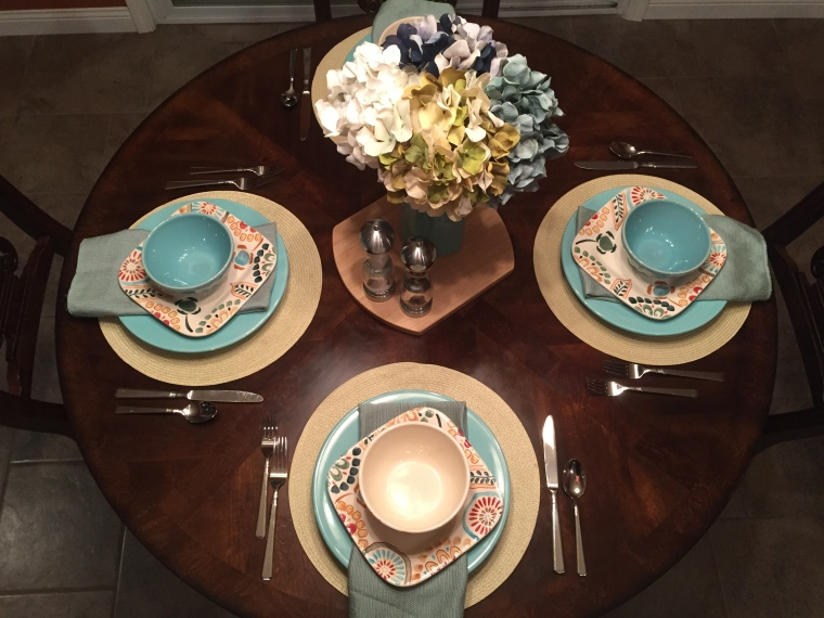 Joanna Gaines Table Setting | Elcho Table